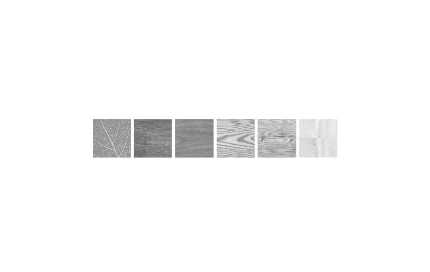 Logotype aus der Darstellung verschiedener Holzarten: Gestaltung und Werbung für die Schreinerei Staber