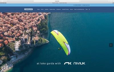 Gestaltung und Werbung für Turnpoint: Webdesign der umfangreichen Webseite.