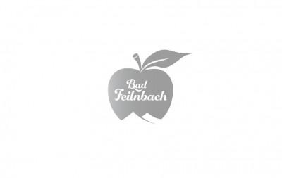 Gestaltung und Werbung für Bad Feilnbach: Apfel-Logotype für den Tourismus.