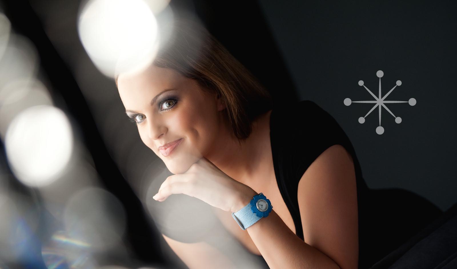 Gestaltung und Werbung: Brand Design-Entwicklung für die Uhrenmarke Deja vu.