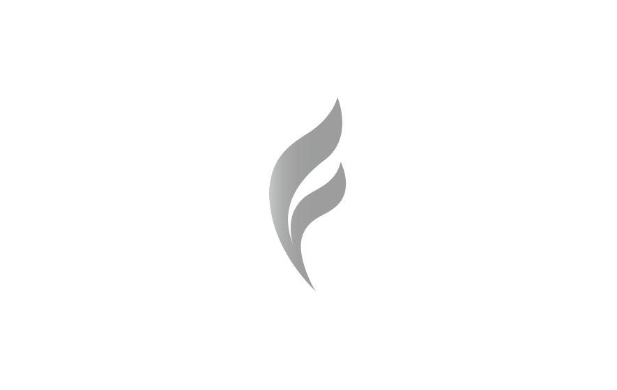 Gestaltung und Werbung für Gleitschschule Freiraum: Logotype aus dem Buchstaben F mit stilisierter Windfahne.